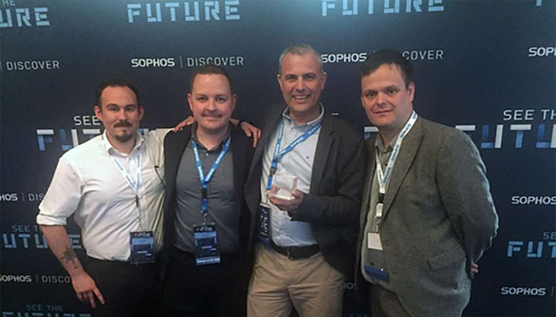Arc cybersecurity team, sophos award