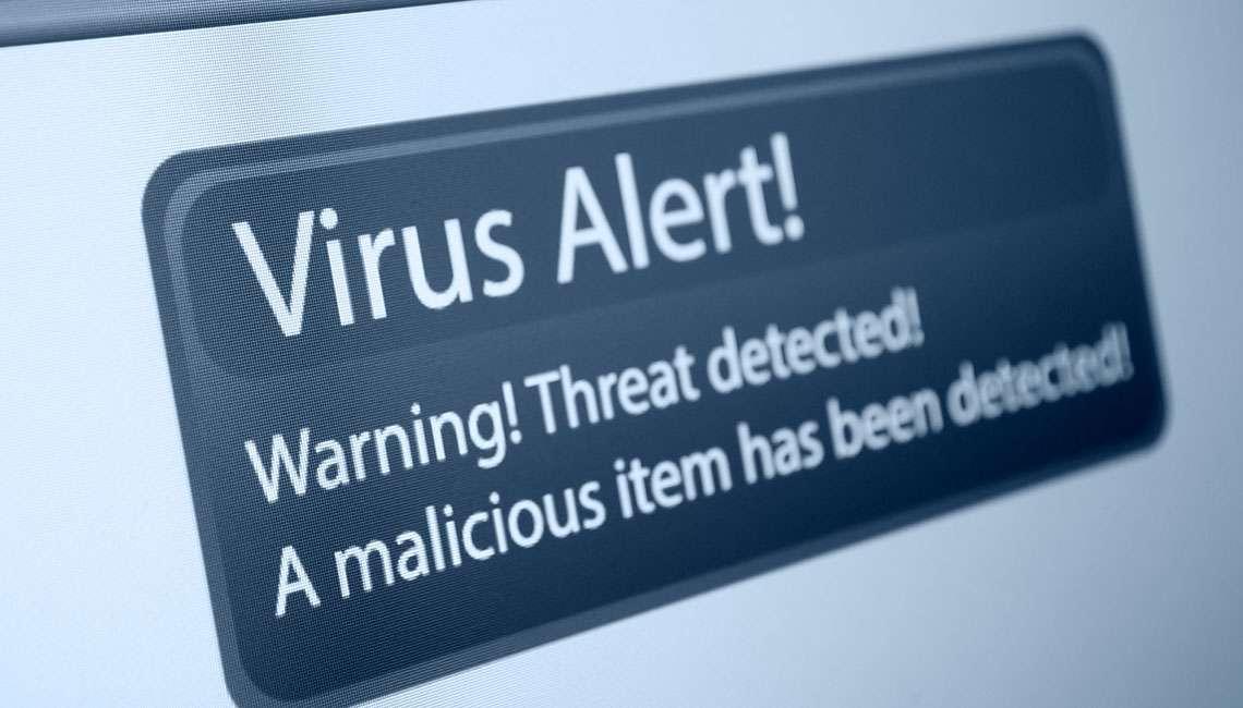 Virus Attack alert, Managed Email security in Essex