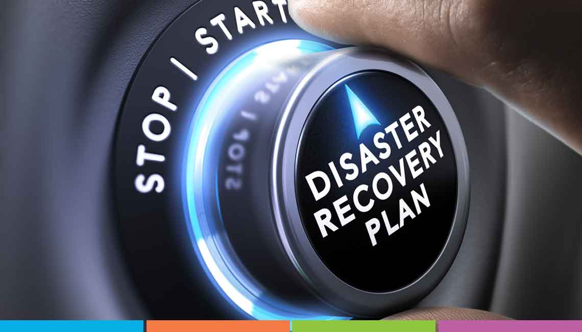 Disaster Recovery button. Disaster Recovery for small businesses in Essex