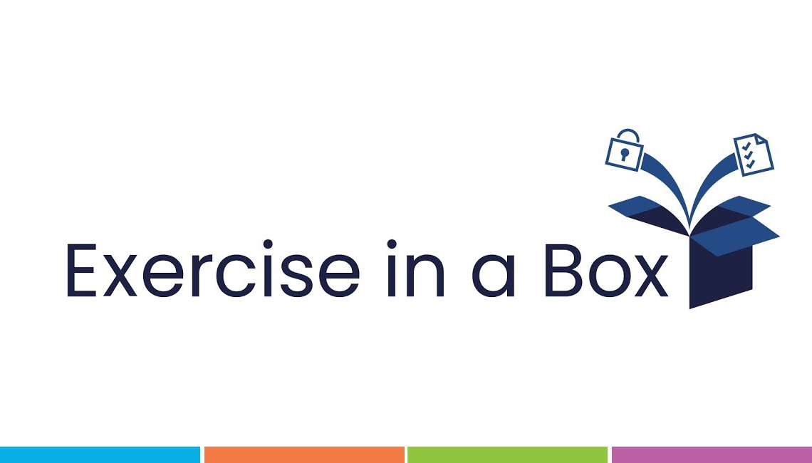 Cyber Security training for business. Exercise in a box