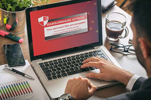 Cybersecurity in Essex. Ransomware attack. Ransomware protection.