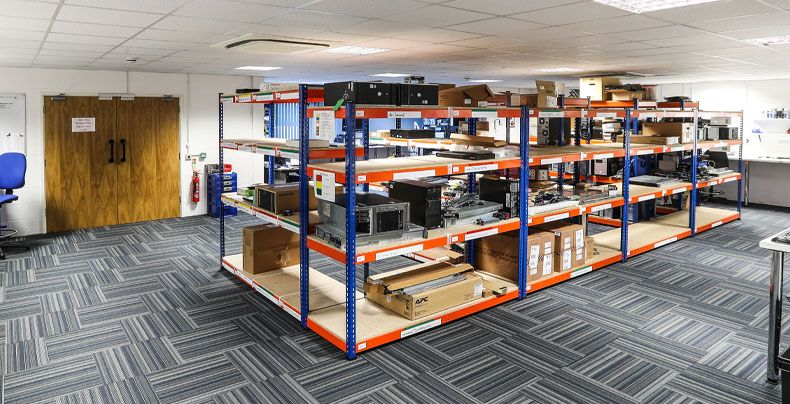 engineering room for computers